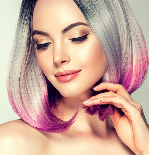 pastel hair colours, top hair salon in staffordshire