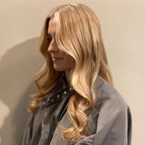 blonde balayage, top hair salon, swinfen, lichfield, staffordshire